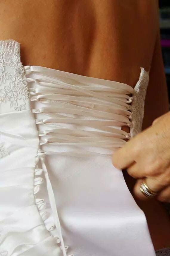 Traditional Corset Lace Up Back